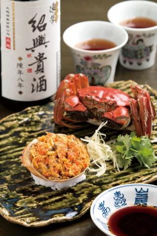 陽澄湖産メスの上海蟹